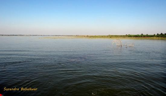 Baramati, India: Back Waters of Ujani Dam on Bhima River