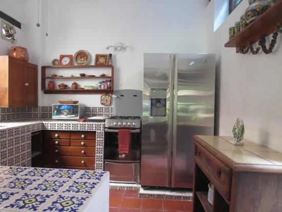 Casa Del Puente: Los Patios kitchen Two bed/Two bath
