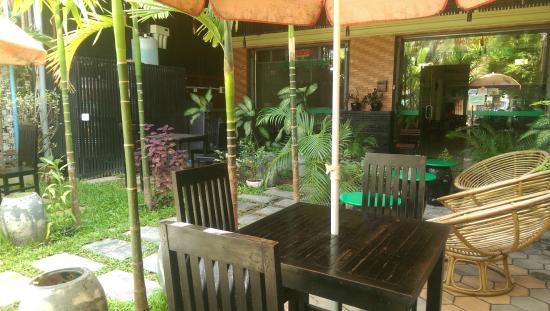 Siem Reap Green Home Guesthouse: Garden