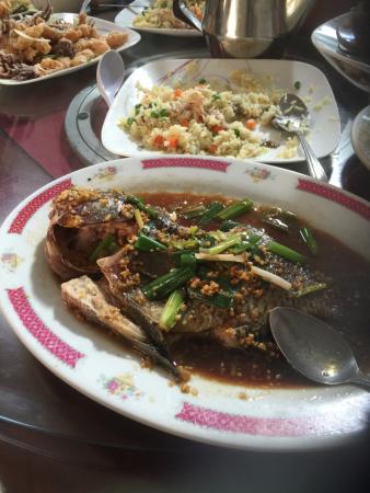 Thien Hong: Steamed Tilapia