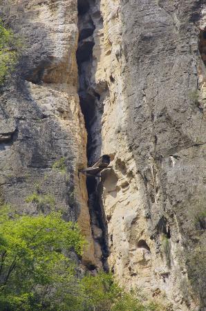 Badong County, China: The Hanging coffin