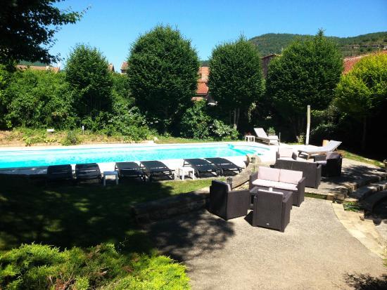 Hotel les Raspes: La piscine