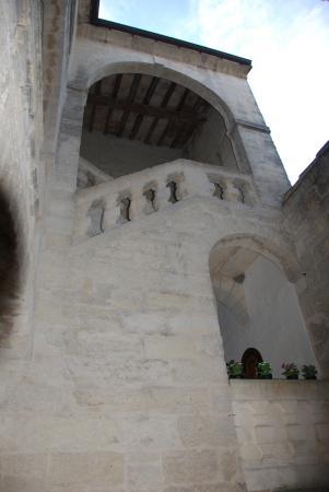 Le Richelieu : cour intérieure