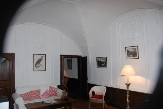Le Richelieu : salon-bureau