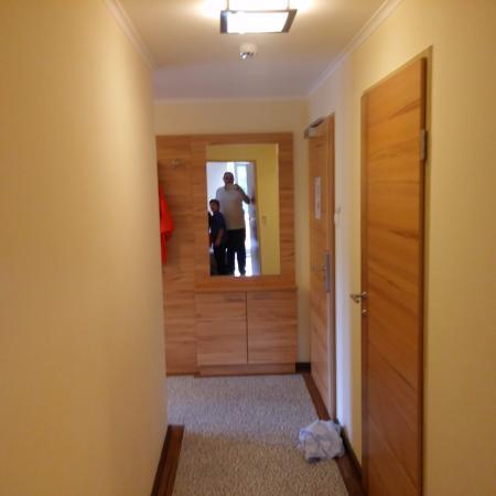 Appartements Knappensteig: מסדרון