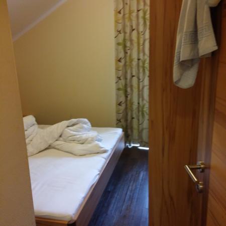 Appartements Knappensteig: חדר שינה