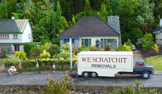 Babbacombe Model Village Funny Names On Lorries Etc