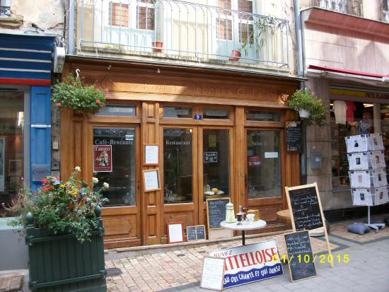 new saint georges cafe 39 in autun restaurant reviews. Black Bedroom Furniture Sets. Home Design Ideas