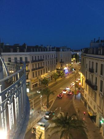 Hotel  Le Cavendish: View from the balcony