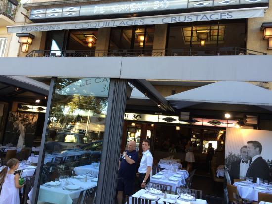 Hotel  Le Cavendish: Le Caveau restaurant close by fantastic!