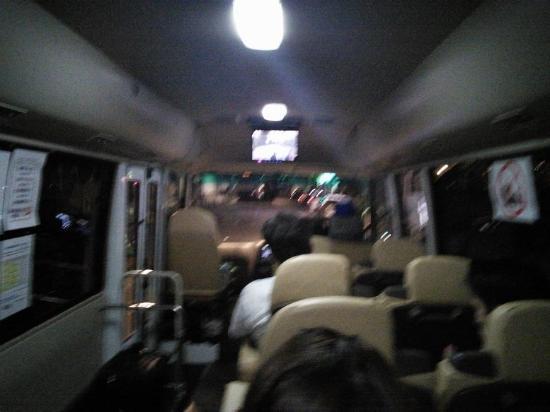 Toyoko Inn Asakusa Senzoku Tsukuba Express: 送迎のマイクロバス