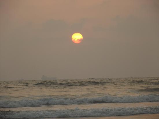 Bardez, India: Candolim beach