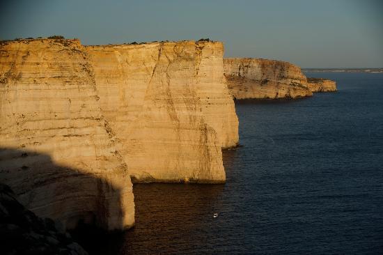 Munxar, Malta: Klify