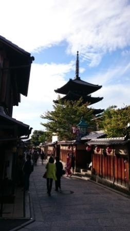 Bunnosukechaya: 八坂の塔のお膝元