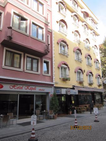 Kupeli Hotel: центральный вход