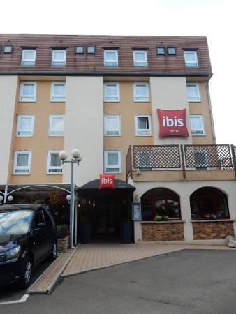 Ibis Beaune Centre : Façade de l'Hôtel Ibis Centre