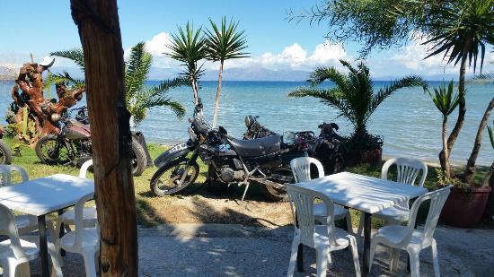 Taverna 'takis : Motorradausflug September 2015