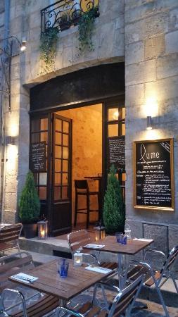 Restaurant Lume Carte Bordeaux