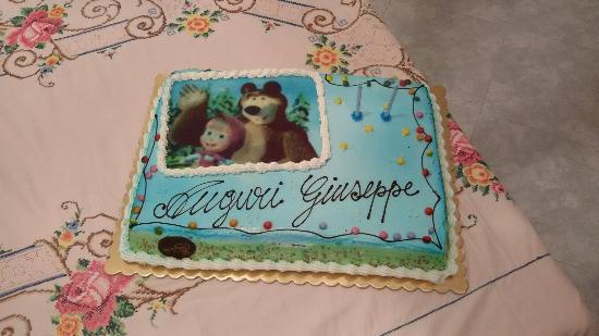 Torta di Compleanno Bimbo   Picture of Voglie Matte, Santa Maria