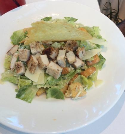 The Garden Cafe: Caesars salad