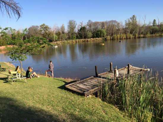 Modimolle (Nylstroom), Sydafrika: fishing dam