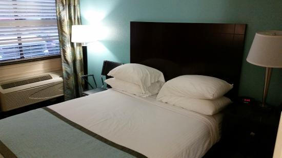 Super 8 Nashville Airport Music City Area: bed