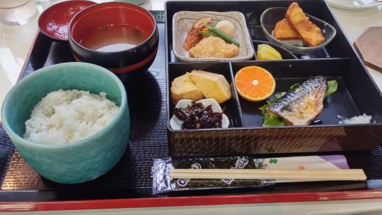 Terminal Hotel Matsuyama: breakfast (Japanese style)