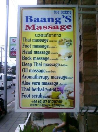 Baang Health Massage