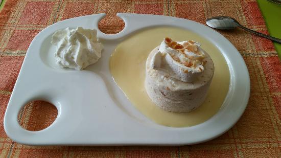 Molitg-les-Bains, Γαλλία: Un dessert très goûteux !