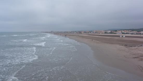 Narbonne-Plage, Frankrike: praia narbonne