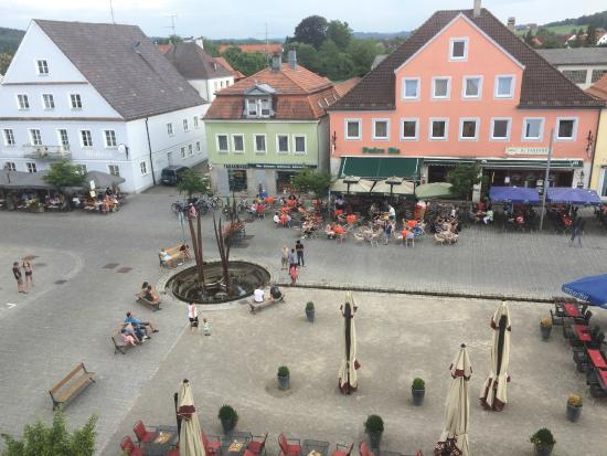 Hotel Hirsch: View from our roon