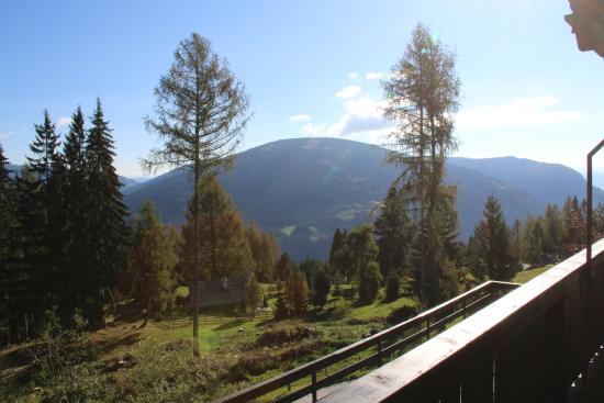 Afritz, Autriche : Uitzicht vanuit hotelkamer
