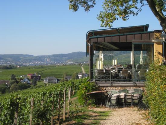 Gutsschanke Schloss Johannisberg: The restaurant