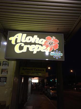 Aloha Crepes
