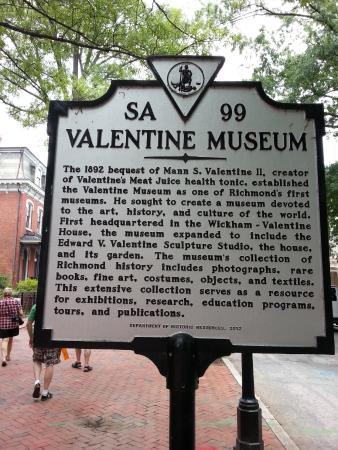 The Valentine   Richmond History Tours: City Center Walking Tour   Valentine  Museum
