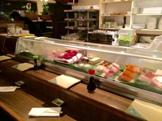 Sansei Seafood Restaurant: A Partial View of the Fresh Fish, Sushi Bar