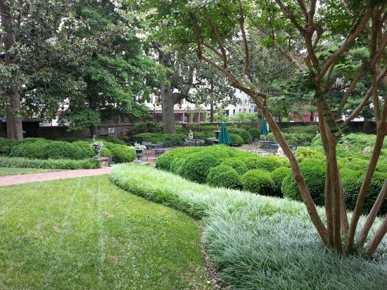 Garden At The Valentine Museum