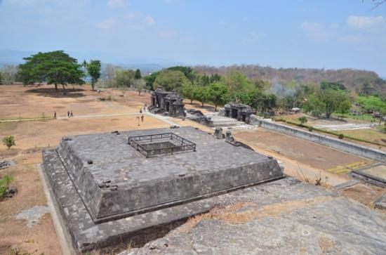 Ratu Boko Temple: 火葬場跡?