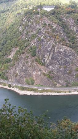 Urbar b Koblenz am Rhein, Niemcy: Loreleyblick Maria Ruh