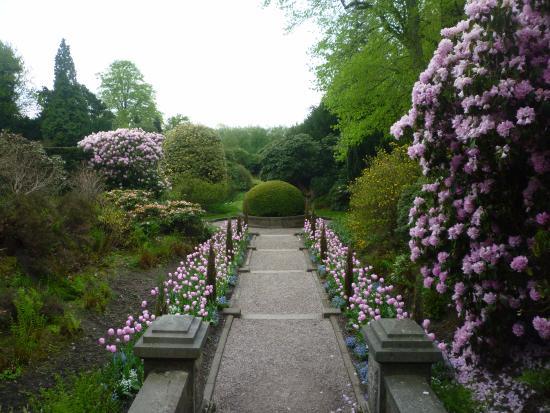 Biddulph, UK: Italian garden