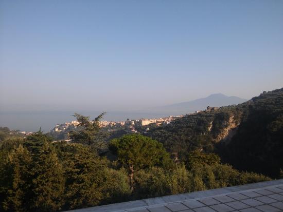 Hotel Soggiorno Salesiano: Vista dal rstorante
