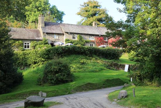 Tarr Steps, UK: Front of Hotel