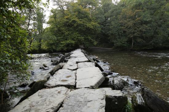 Tarr Steps, UK: Tara Steps - just by the hotel