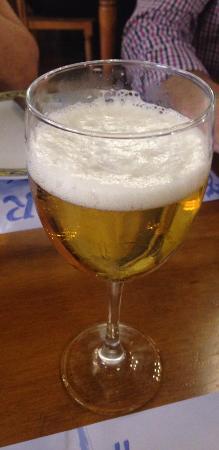 Cerveceria Braseria La Ria: Cerveza