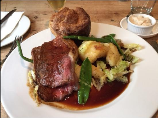 Red Lion Babcary: Lunch