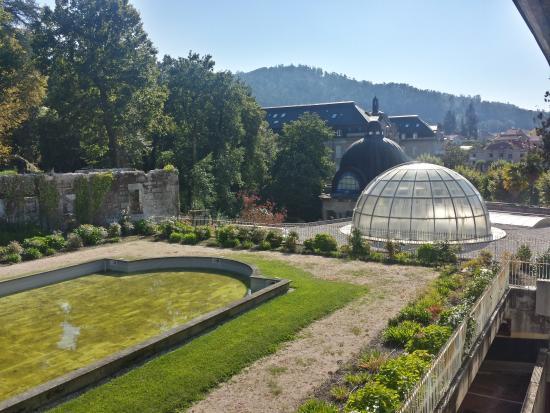 Balneario de Mondariz: Vistas al palacio del agua