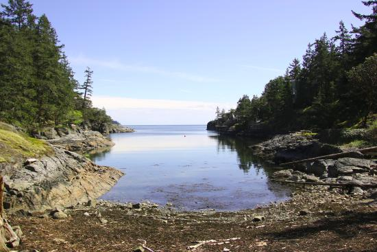 Halfmoon Bay, Kanada: the cove