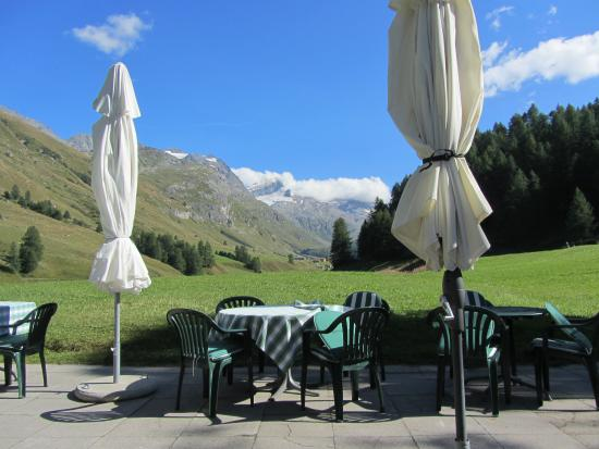 Sils im Engadin, Ελβετία: View from the Terrace