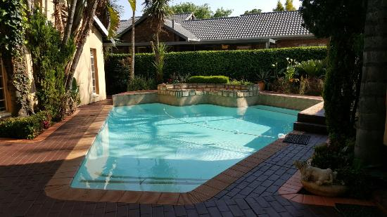 Accommodation at Van's: Pool area