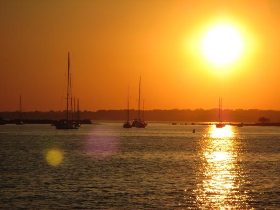 Sunset at Beach Near Milagro 2
